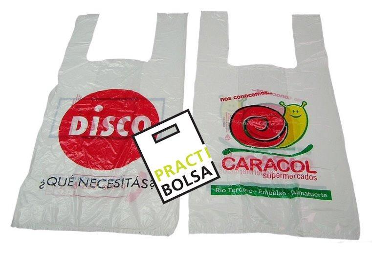 Bolsas Camisetas Impresas Logo Gratis 13x13cm - $ 1,60 en Mercado Libre