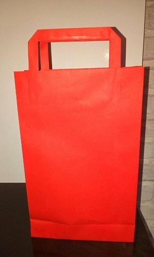 bolsas de papel colores varios ideal para sorpresitas