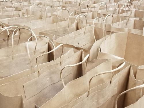 bolsas de papel impresas o lisas
