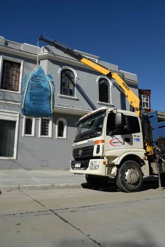 bolsas para escombros  1.5  m3  residuos  retiro gratis