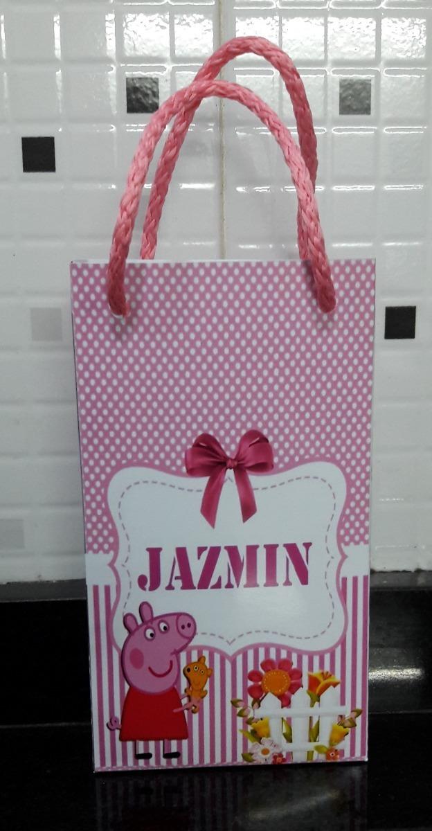 a77957e9e bolsas para sorpresitas personalizadas cumpleaños peppa pig. Cargando zoom.