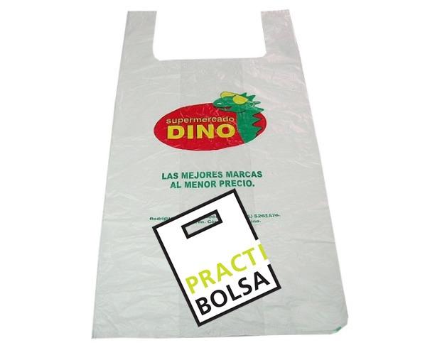 Bolsas Plasticas Camiseta Impresas Logo Gratis 15x15 Cm. - $ 1,60 en ...