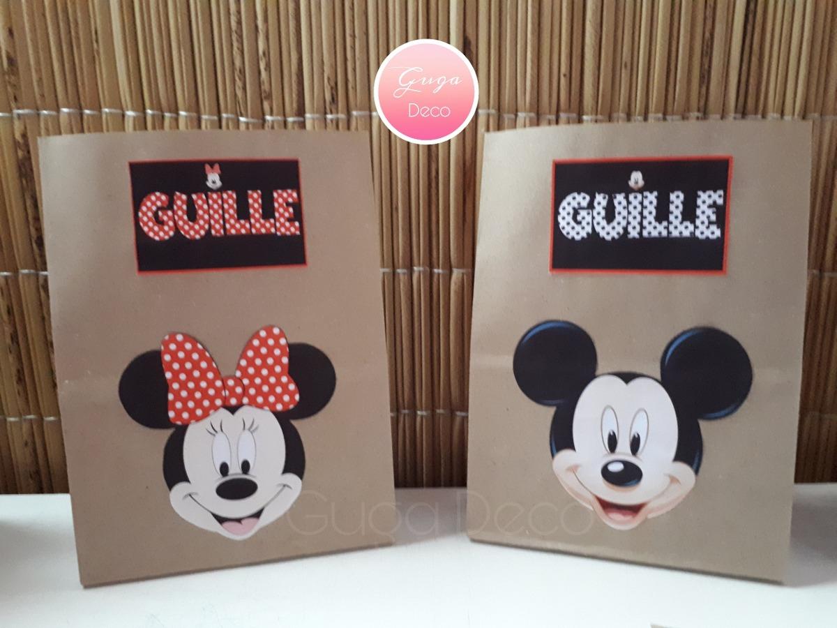 f1ada53fd Bolsitas Sorpresitas Para Cumpleaños Mickey Mouse - $ 20,00 en ...