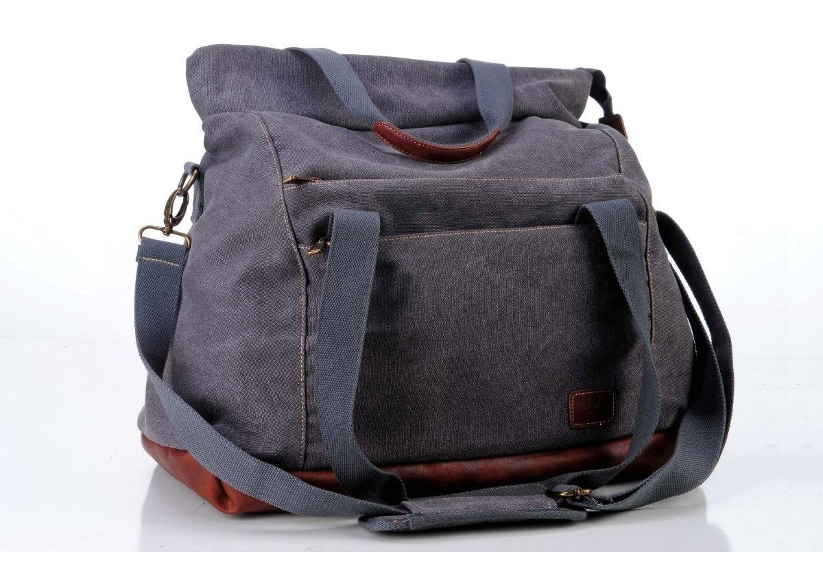 2ac757f70f0 bolso de lona combinado con cuero. excelente para la dama. Cargando zoom.