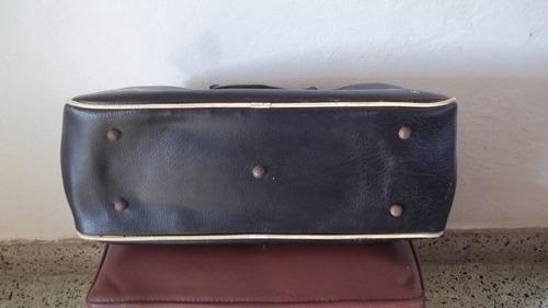 bolso deportivo de la década del 70  vintage de cuero adidas