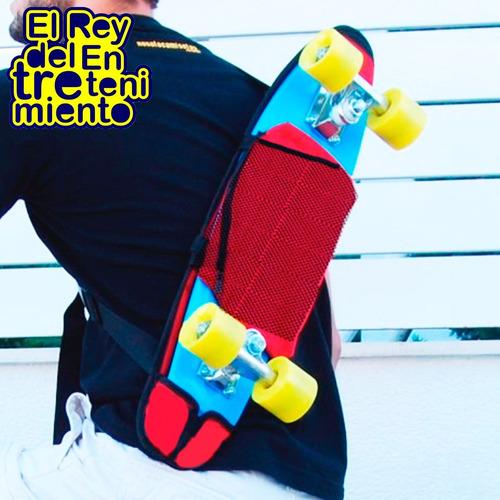 bolso estuche para patineta skate penny 57cm funda - el rey