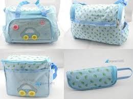 bolso maternal 4 piezas variedad de colores 100% nuevos