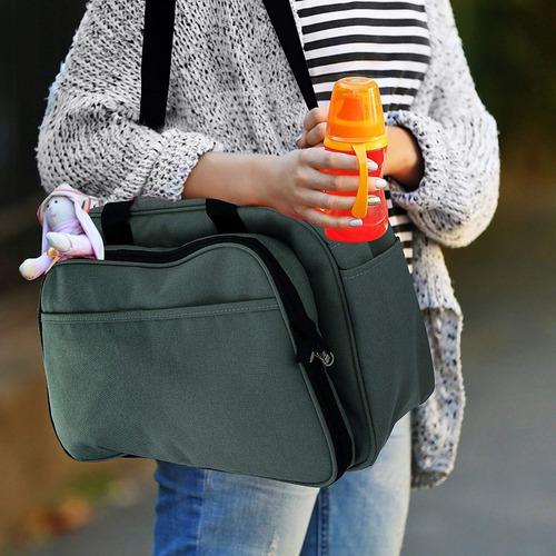 bolso maternal con cambiador infanti se hace cuna portátil