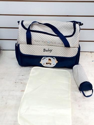 bolso maternal con cambiador (varios colores)