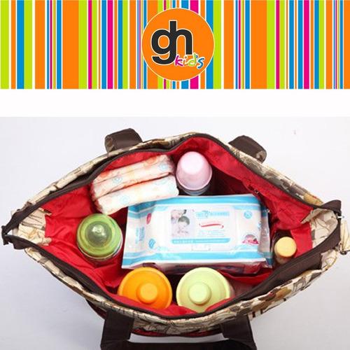 bolso maternal metro bebesit con reparticiones práctico gh