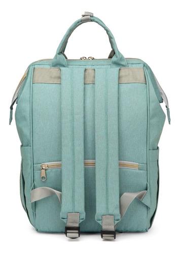 bolso mochila maternal heine + babero y ganchos- eml