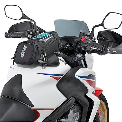 bolso tanque moto givi ea106b con imanes porta smartphone
