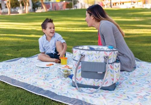 bolsos maternales bebe para picnic y paseos - jjcole