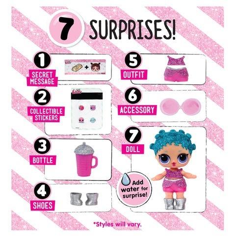 boneca surpresa lol serie glitter - pronta entrega!