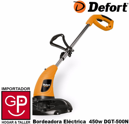 bordeadora electrica 450w 350mm defort alemania