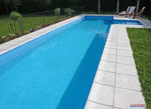 Bordes para piscinas at rmicos y antideslizantes mileto for Bordes decorativos para piscinas