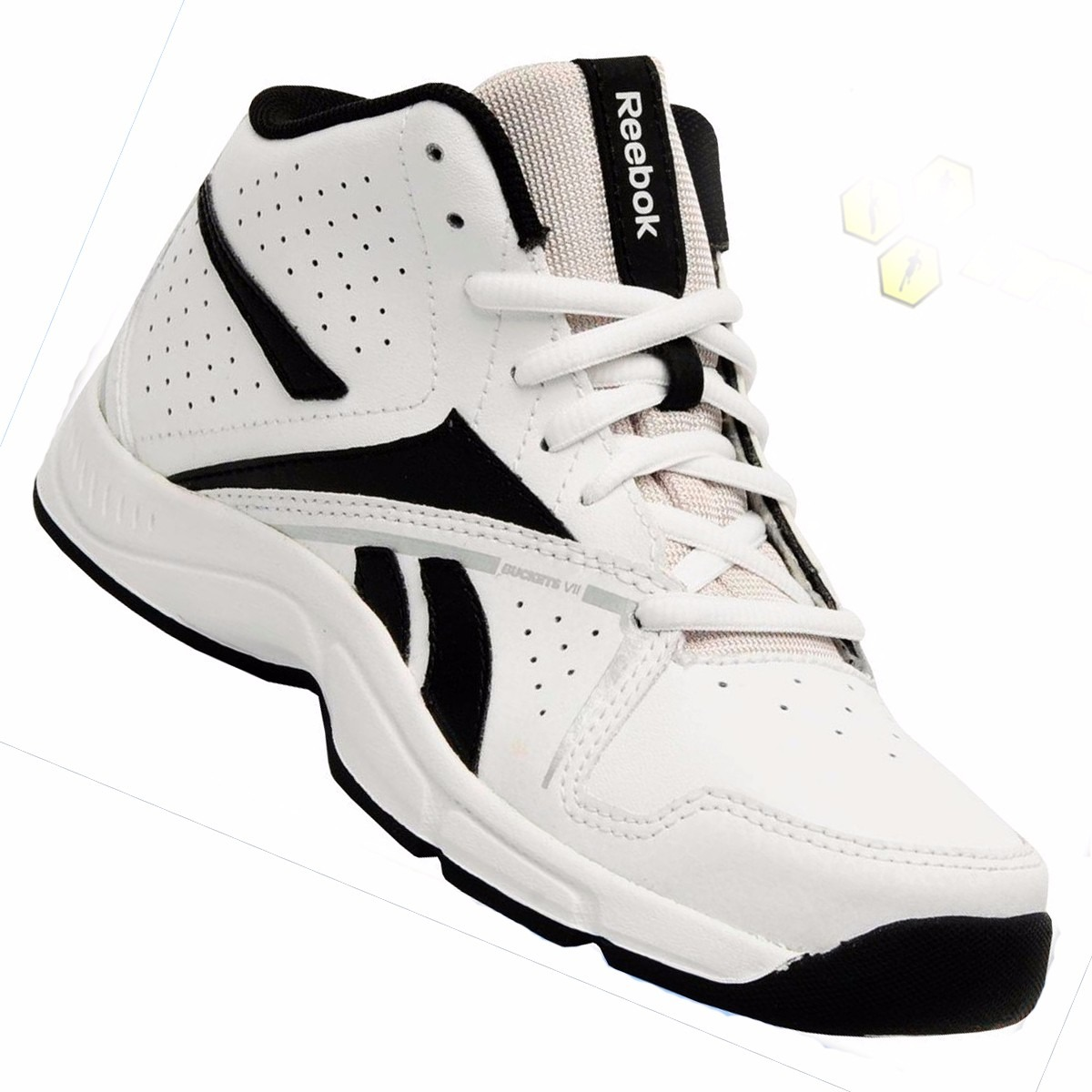 43b217742f0 bota botita champión alto calzado basketball d niño reebok. Cargando zoom.