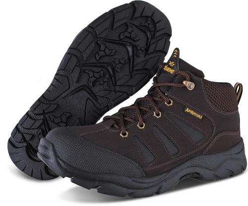 bota coturno adventure masculino cano médio sapato flex
