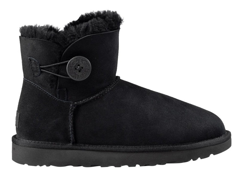 Store Bailey Classic Black Mini Bota Ugg Inbox Dama Button zqSGjLMUVp