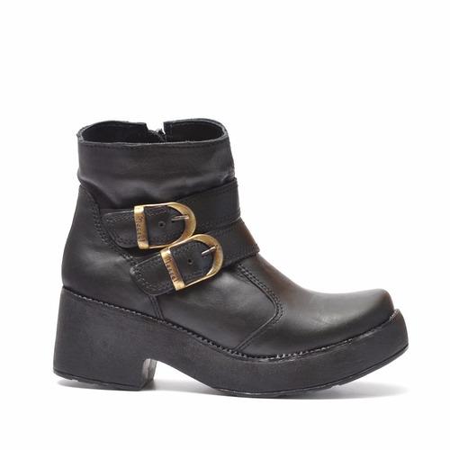 bota de cuero marcel calzados (cod.14904) negro.