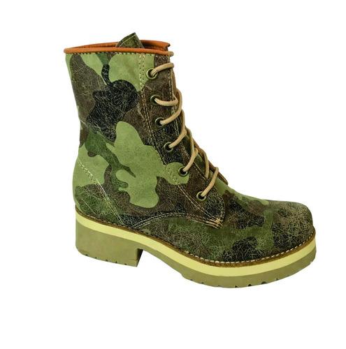 bota de cuero marcel calzados (cod.15581) camuflado.