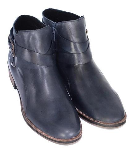 bota de dama de cuero marcel calzados (mod.19661)