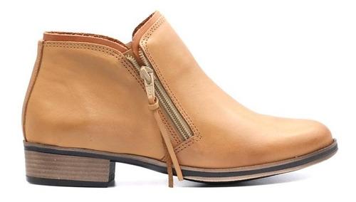 bota de dama de cuero marcel calzados (mod.19662)