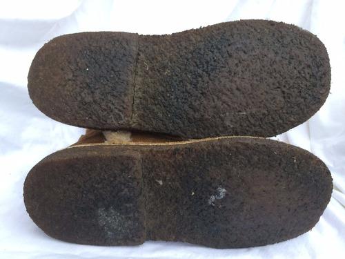 bota gamuza forrada pelo  suela goma nº 38 es un gamulan