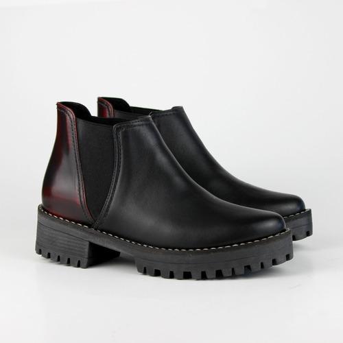 bota negro & rubí