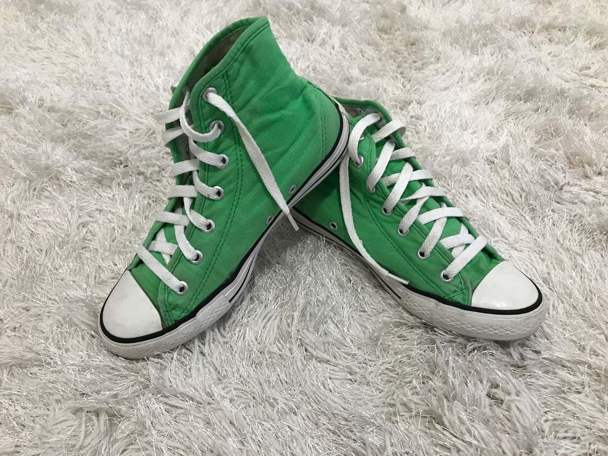all star converse verde
