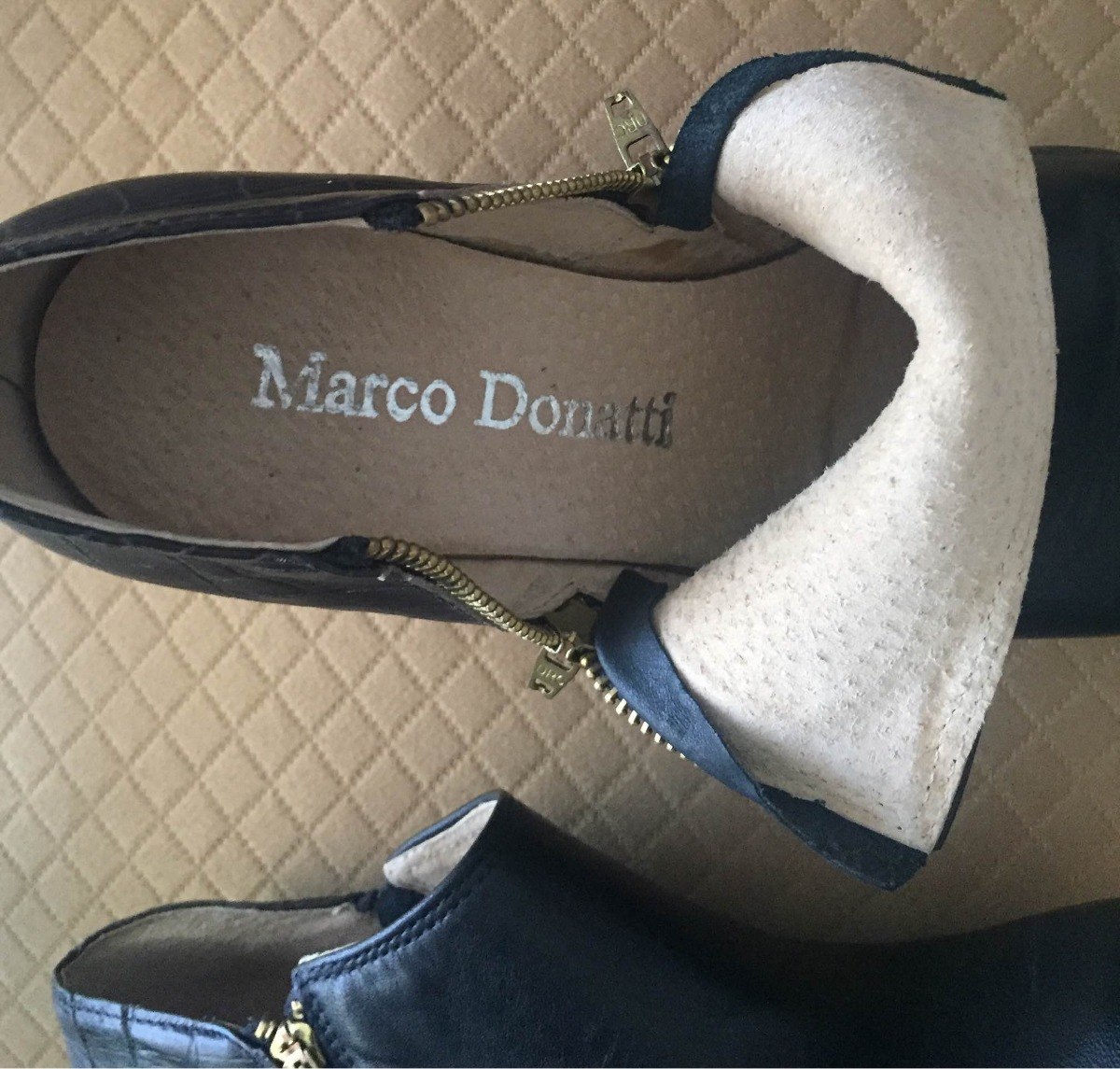 d0fcf7e7 botas botines zapatos plataforma cuero negro como nuevos 39. Cargando zoom.