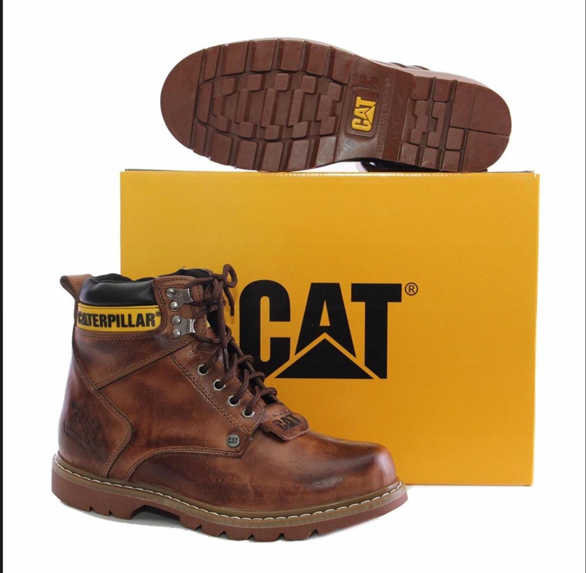 76f7cfe11 botas cat caterpillar cintos+ billetera de regalo 100%cuero. Cargando zoom.