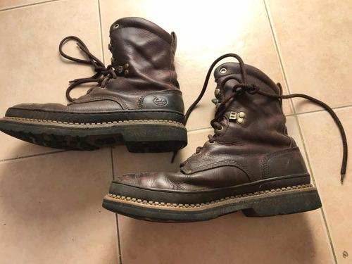 botas de cuero talle 10.5 usa ideal para trabajo o caza