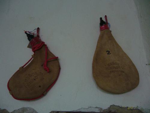 botas de vino rectas de 1/2 lts. muñoz pamplona