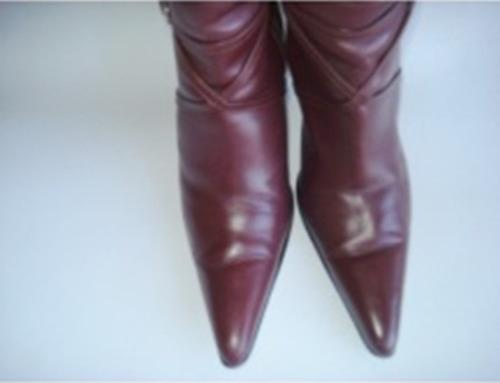 botas ferrara, piel talla 25mx