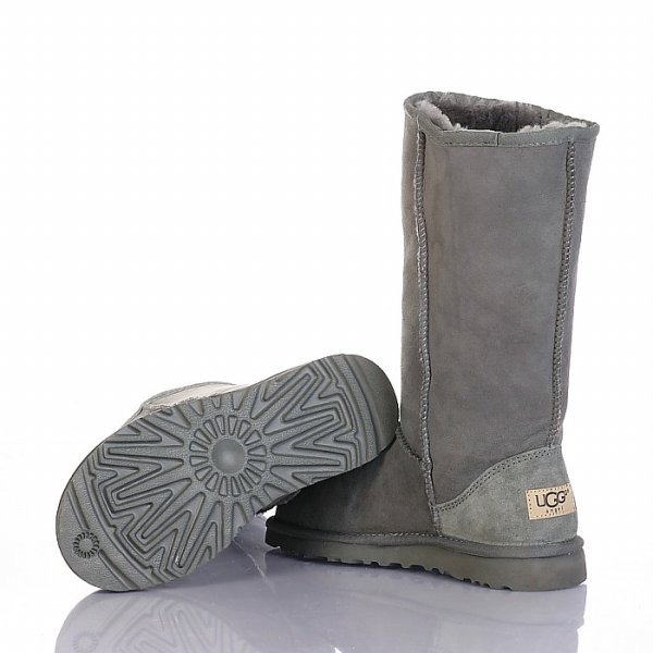 Botas Ugg Classic Tall Dama Grey - Inbox Store -   4.854 76ae26e8c4a