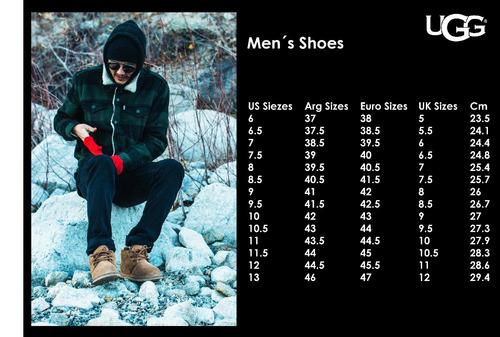 botas zapatos hombre combo 2 botas ugg freamon + hendrickson