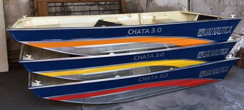 bote aluminio uai mod. chata 300