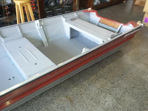 bote de aluminio / lancha metal glass 5 metros