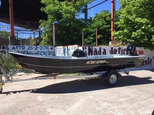 bote de aluminio polimarine 600 mercury  nautica lanchas