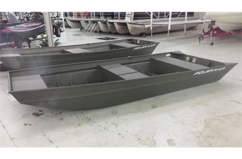 bote en aluminio polar kraft nautica lanchas pesca gomon