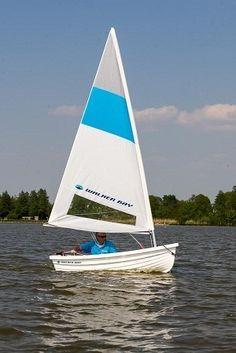 bote gomon dinghy walker bay 310 kit de vela nautica aux