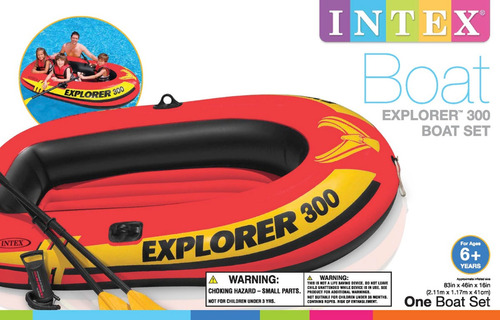 bote inflable explorer 300