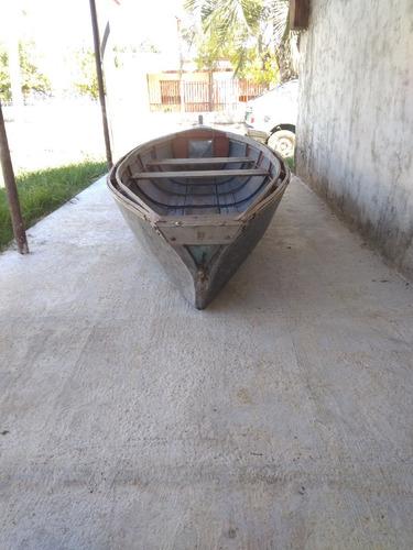 bote lancha de 4.70 x 1.30 de chapa galvanizada