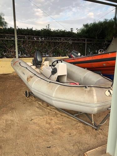 bote neumático con motor yamaha 25hp