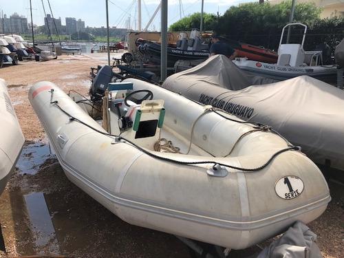 bote neumático con motor yamaha 30hp