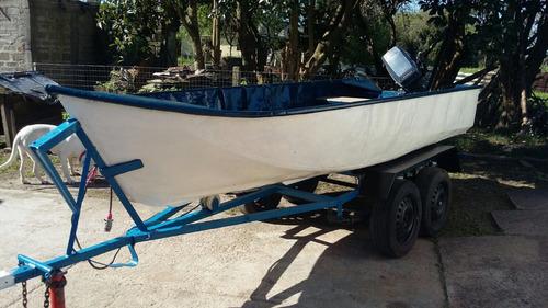 bote y trailer