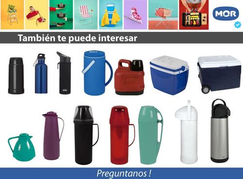 botella deportiva fitness water to go mor en acero inox