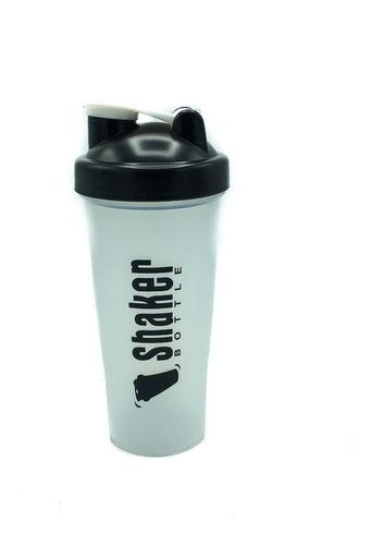botella deportiva mezcladora de proteinas shaker 600ml