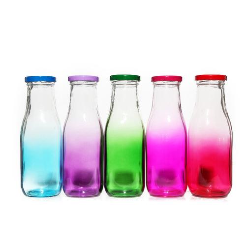 botella mason 450 ml con sorbito colores degrade goldsky